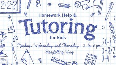 Tutoring and Homework Help