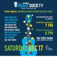 Utah Blues Society Holiday Party