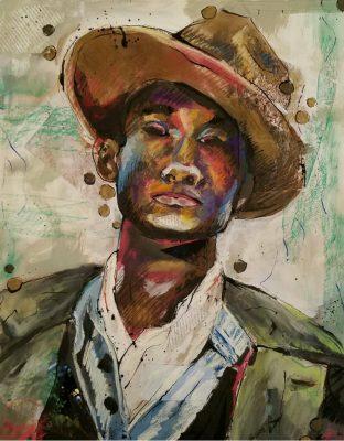 Visual Art Institute Student Portrait Show