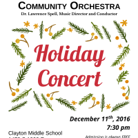 Wasatch Symphony's Holiday Concert