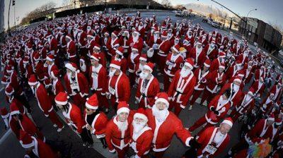 Utah Santa 5K Run