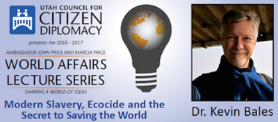 World Affairs Lecture Series: Modern Slavery, Ecocide, & the Secret to Saving the World