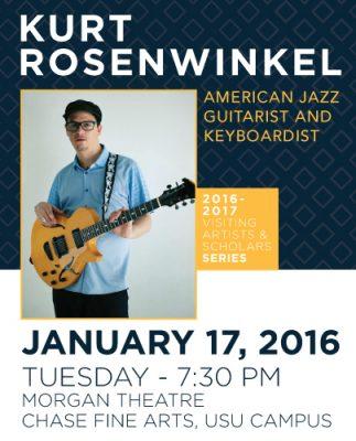 Jazz Guitar Virtuoso Kurt Rosenwinkel in Concert
