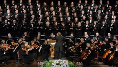 Temple Square Chorale and Orchestra at Temple Square