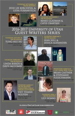 University of Utah Guest Writers Series and Hivemi...
