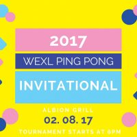 2017 Wexl Ping Pong Invitational