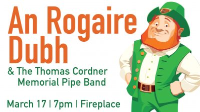 An Rogaire Dubh and The Thomas Cordner Memorial Pipe Band