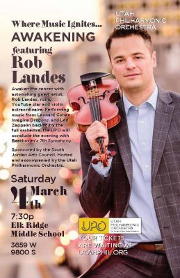 Awakening Featuring Rob Landes and the UT Philharmonic Orchestra