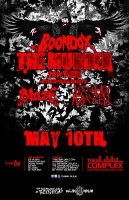 BOONDOX - The Murder 2017 Tour