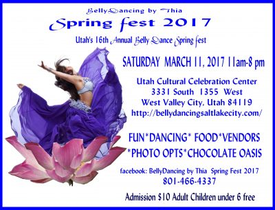 BellyDancing by Thia Belly Dance Spring Fest 2017