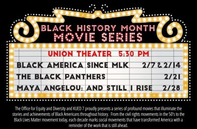 Black History Month Movie Series