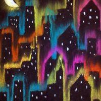 Chalk Cityscapes - By Janna Bateman