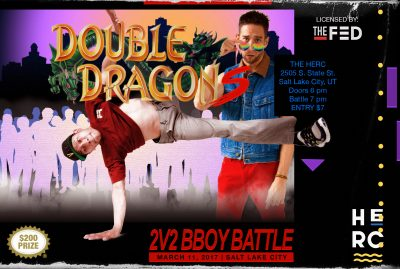Double Dragons   2 v 2 BBOY BATTLE   March 11