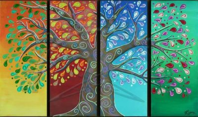 Four Seasons Tree - By Janna Bateman