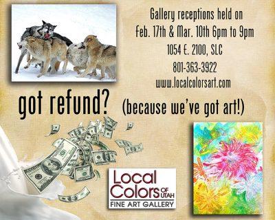 Got Refund? (Because We've Got Art!) Group Artist Show