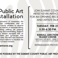 How We [=] Move: Public Art Reception and Artist Talk