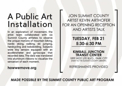 How We [=] Move: Public Art Reception and Artist T...