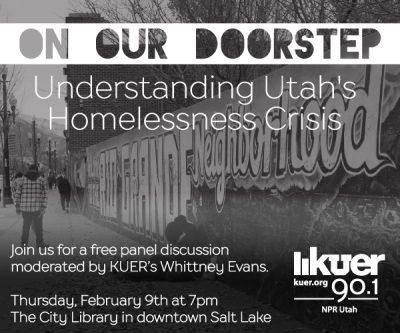 On Our Doorstep: Understanding Utah's Homelessness Crisis