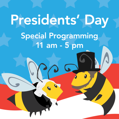 Presidents' Day at Discovery Gateway!