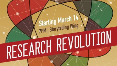 Research Revolution: Utah Valley Earth Forum