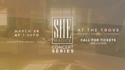SHE Magick Concert Series