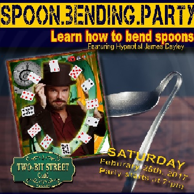 Spoon Bending Party Live at Two Bit Street Cafe