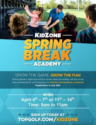 Topgolf Spring Break Academy