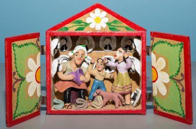 Third Saturday for Families, Retablos