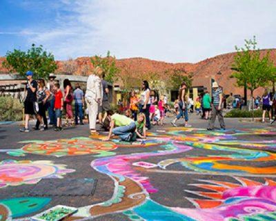 Kayenta Arts Foundation Street Painting Festival