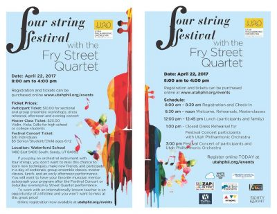 4 String Festival with the Fry String Quartet