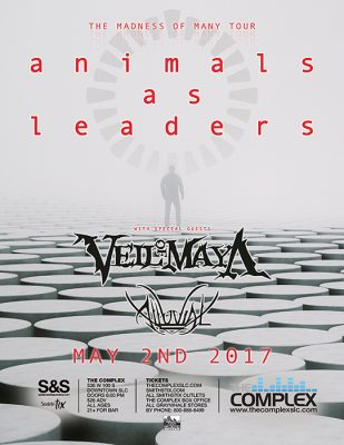 Animals As Leaders - The Madness Of Many Tour