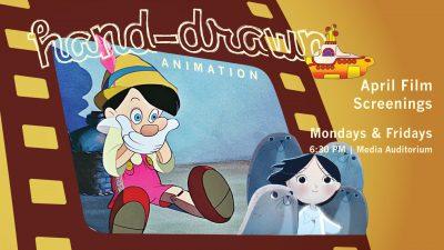 April Film Screenings: Hand-drawn Animation!