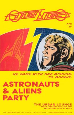 Astronauts and Aliens Party