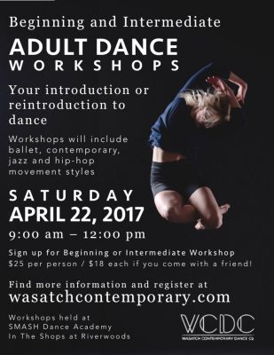 Beg/Int Adult Dance Workshops
