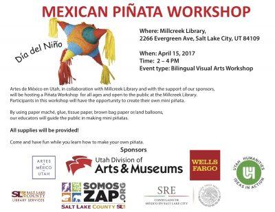 Día del Niño Piñata workshop