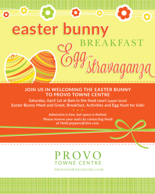 Easter Bunny Breakfast Egg-stravaganza