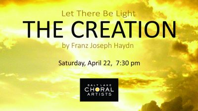 """Let There Be Light: """"The Creation"""" by Franz Joseph Haydn"""