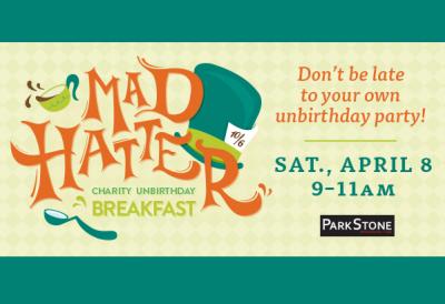 Mad Hatter Charity Unbirthday Breakfast