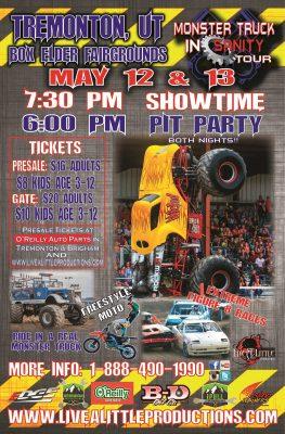 Monster Truck Insanity Tour in Tremonton!