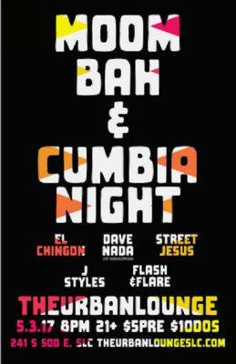 Moombah and Cumbia Night