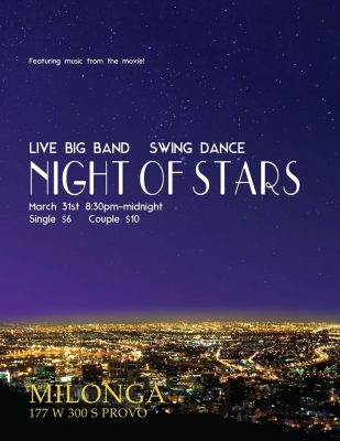 NIGHT OF STARS! Live Big Band Swing Dance