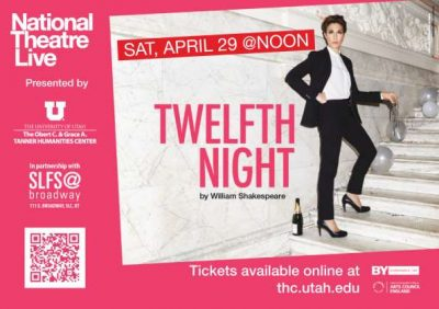 """National Theater Live presents """"Twelfth Night"""""""