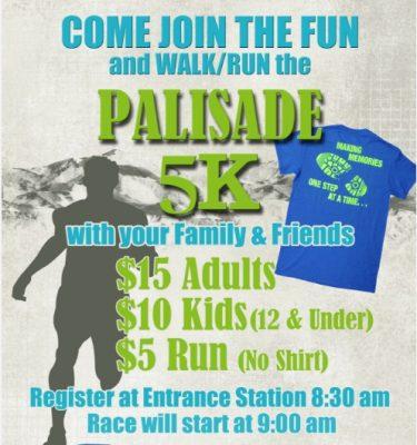 Palisade State Park 5K Walk, Run