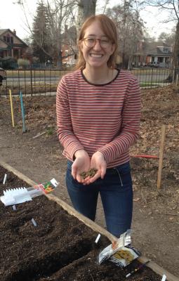 Potting Up Seedlings in the Greenhouse Workshop
