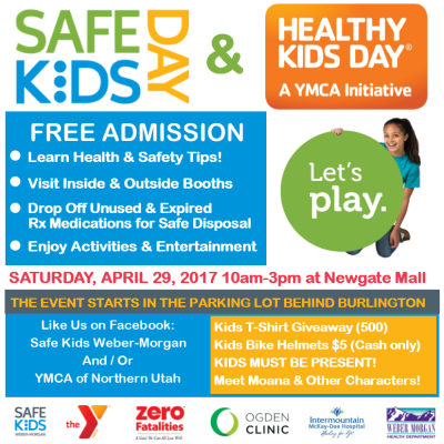 Safe Kids Day and Healthy Kids Day