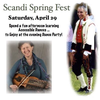 Scandinavian Folk Dance and Music Workshop, Dinner and Party