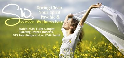 Spring Clean Your Spirit Psychic and Wellness Fair