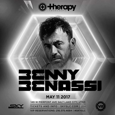 Therapy Thursdays: Benny Benassi
