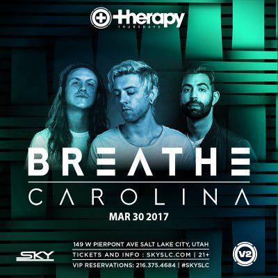 Therapy Thursdays: Breathe Carolina