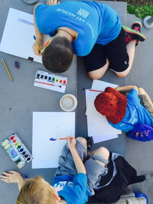 This is the Place Park Art Camp Session 2